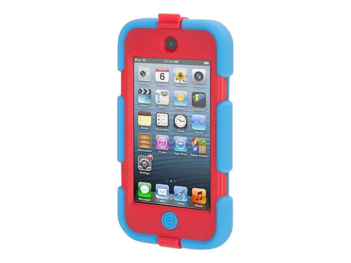 Griffin Survivor AT for iPod Touch, Blue Red