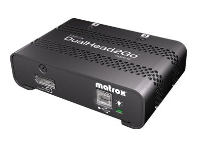 Matrox DualHead2Go Digital SE, D2G-DP2D-IF, 14825548, Video Extenders & Splitters