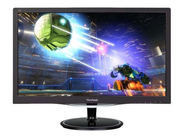 ViewSonic 23.6 VX2457-MHD Full HD LED-LCD Monitor, Black, VX2457-MHD, 30955107, Monitors - LED-LCD