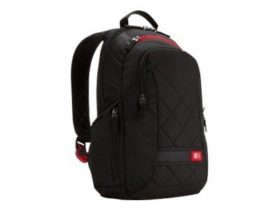 Case Logic 14 Laptop Backpack, Black, DLBP-114BLACK, 12623264, Carrying Cases - Notebook