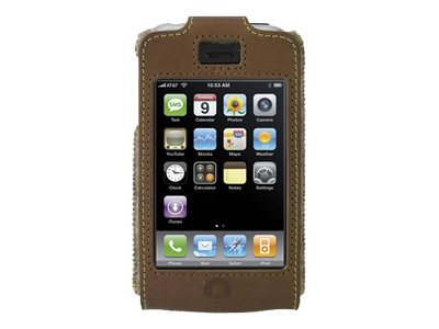 Belkin Eco-Conscious Formed Leather Case for iPhone 3G, F8Z336, 9232377, Carrying Cases - Phones/PDAs