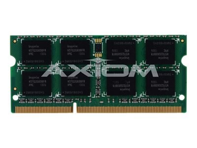 Axiom 8GB PC3-10600 DDR3 SDRAM SODIMM, TAA, AXG27592503/1
