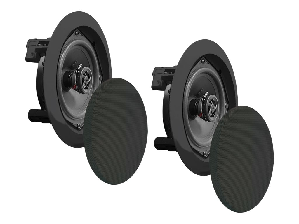 Pyle 6.5 Two-Way In-Ceiling Speaker System, PDIC61RDBK