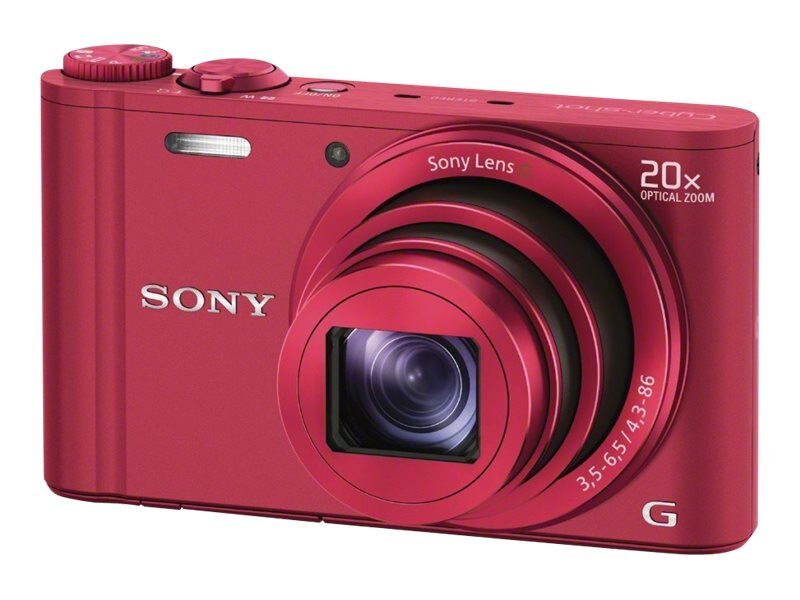 Sony DSC-WX300 Camera - Red