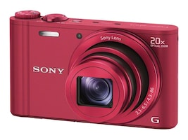 Sony DSC-WX300 Camera - Red, DSCWX300/R, 15567093, Cameras - Digital - Point & Shoot