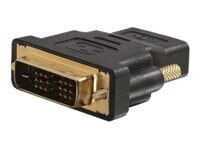 C2G Velocity DVI-D (M) to HDMI (F) Inline Adapter, Black, 40746, 14415098, Adapters & Port Converters