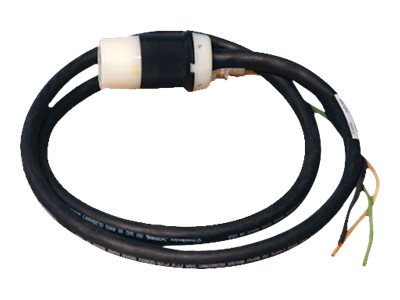 Tripp Lite Single-Phase 208 240V Whip L5-30R 25ft with 3ft Outer Jacket Removed, SUWL630C-25, 11571571, Power Cords