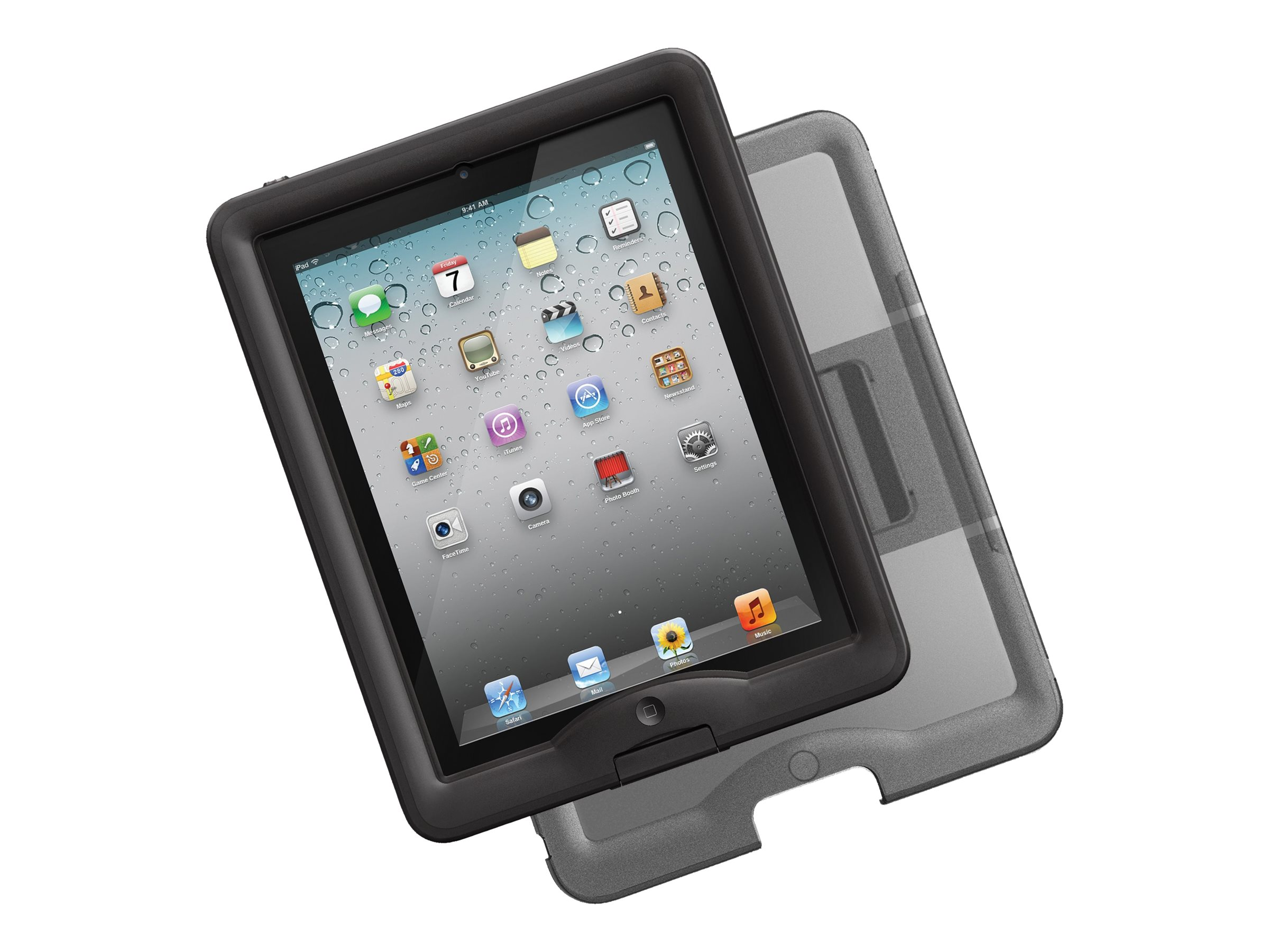 Lifeproof NUUD for iPad 2 3 4, Black, 1103-01, 18622692, Carrying Cases - Tablets & eReaders