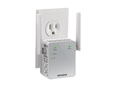 Netgear AC750 802.11n WiFi Range Extender Essentials Edition