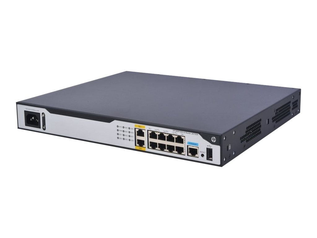 HPE MSR1003-8 AC Router US English