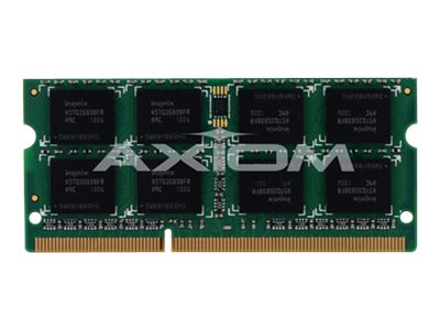 Axiom 4GB PC3-10600 DDR3 SDRAM SODIMM, TAA, AXG27593235/1