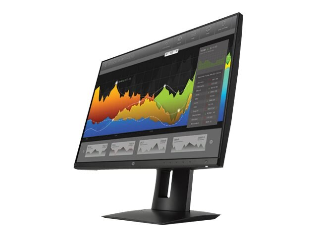 HP Smart Buy 23.8 Z24NF Full HD LED-LCD Monitor, Black, K7C00A8#ABA