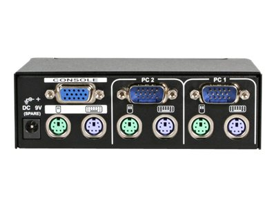 StarTech.com 2-Port StarView KVM Switch PS 2+Serial, SV231