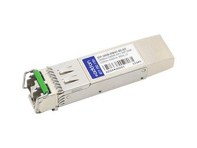 ACP-EP SFP+ 80KM CWDM LC XCVR 10-GIG CWDM DOM SMF Transceiver for MSA