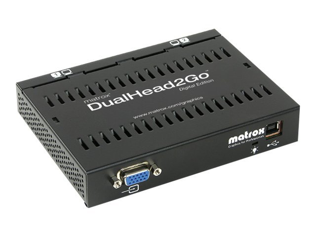 Scratch & Dent Matrox DualHead2Go Analog Edition, D2G-A2A-IF, 30736588, Graphics/Video Accelerators