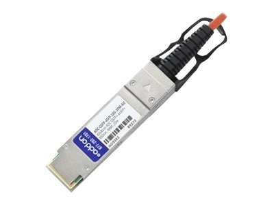 ACP-EP QSFP+ TO 4XSFP+ Fiber 20M Compatible DAC TAA 40GBASE AOC 20M Transceiver for Dell, AOC-QSFP4SFP10G20MAO