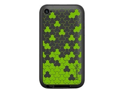 Imation Tuffwrap Tatu for iPod touch G4, Charcoal Green, 02303, 12218728, Carrying Cases - Phones/PDAs
