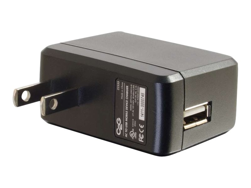 C2G AC to USB Mobile Device Charger, 5V 2A Output