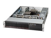Supermicro SuperChassis 213A (2x)Intel AMD 16x2.5 HS SAS SATA Bays 7xExpansion Slots 3xFans 2x740W RPS