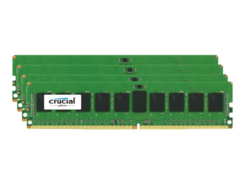 Crucial 32GB PC4-17000 288-pin DDR4 SDRAM RDIMM Kit, CT4K8G4RFS4213, 17875410, Memory