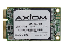Axiom 240GB Signature III mSATA 6Gb s Async Internal Solid State Drive, SSDMO3A3240-AX, 15296959, Solid State Drives - Internal