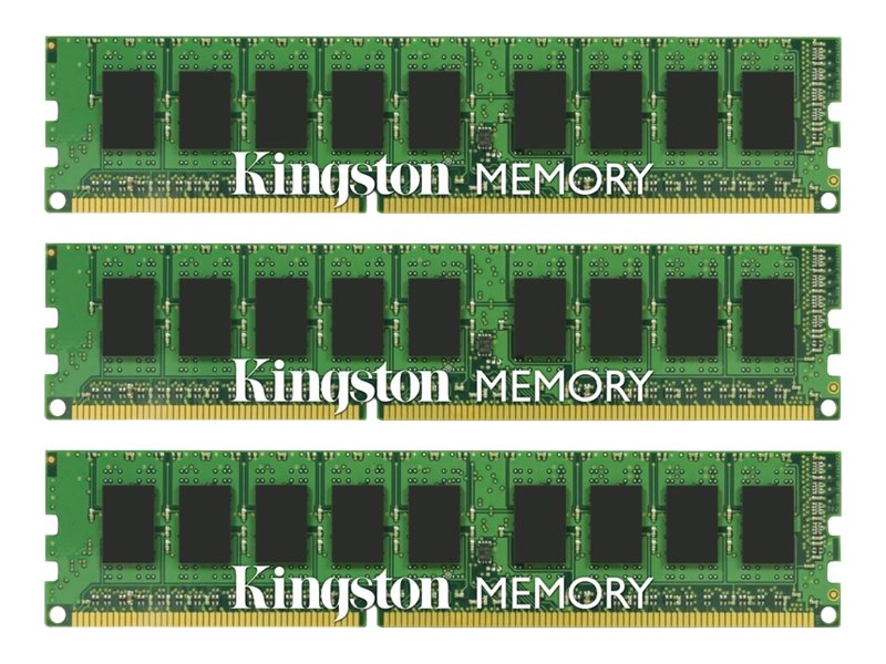 Kingston 24GB PC3-12800 DDR3 SDRAM DIMM Kit, KVR16LE11K3/24, 16941163, Memory