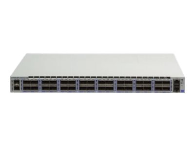 HPE Arista 7060X2 32-Port 100GbE QSFP Switch w 2xSFP+, Rear-to-Front air, 2xAC