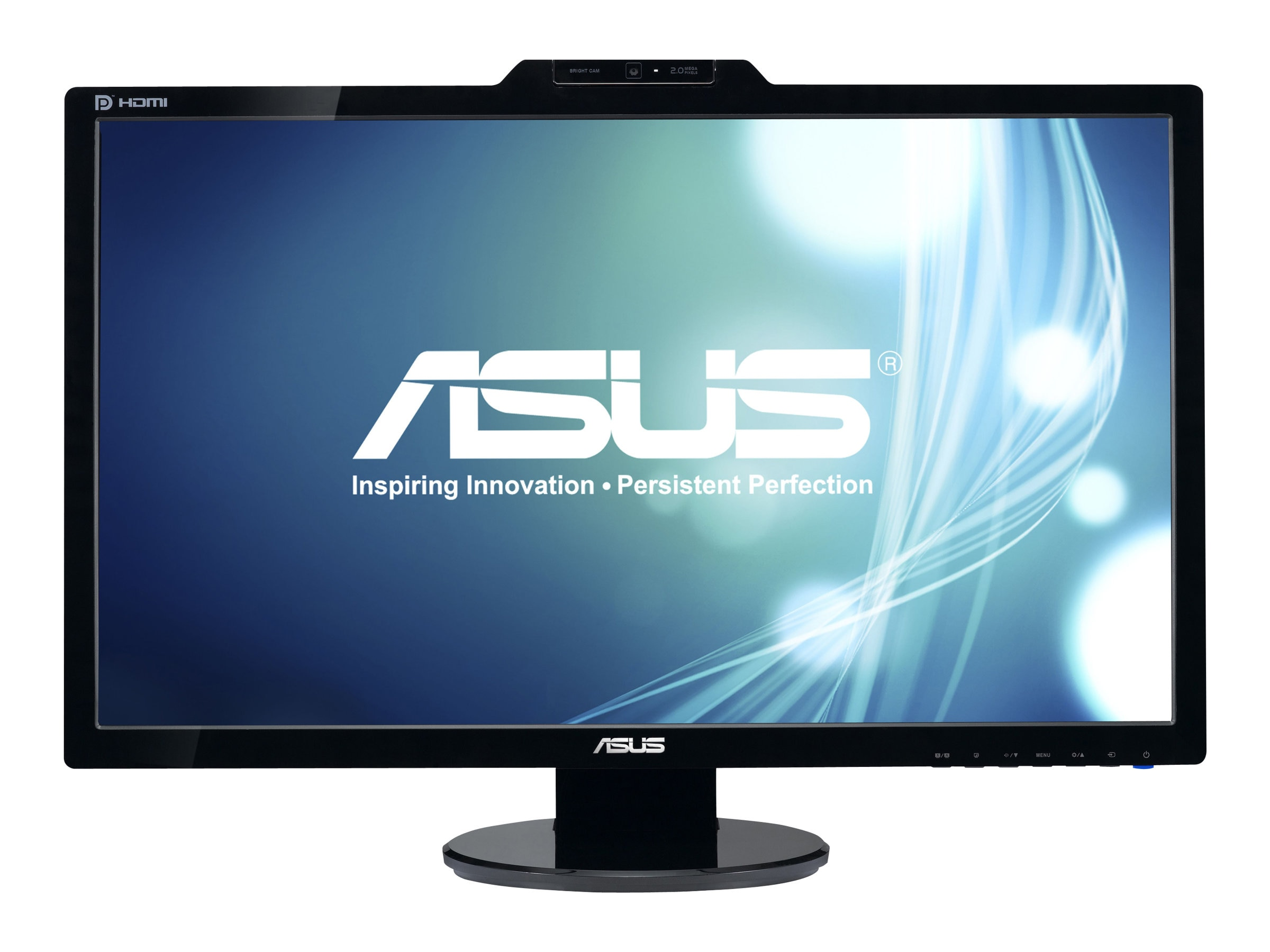 Asus 27 VK278Q Widescreen LED-LCD Full HD Monitor with Webcam, Black, VK278Q, 12019884, Monitors - LED-LCD