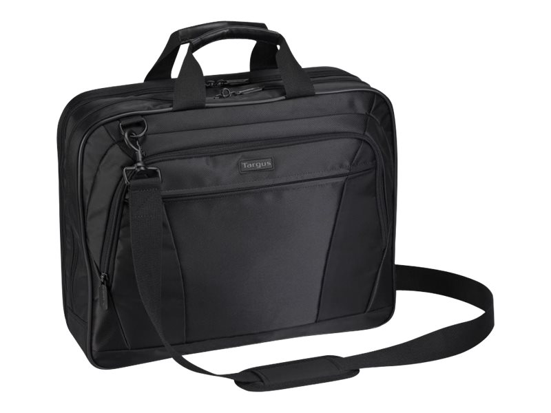 Targus CityLite Topload Notebook Case, Fits 15.6, Black, TBT053US, 10238637, Carrying Cases - Notebook