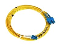 Axiom LC LC Singlemode Duplex 9 125 Cable, 15m, LCLCSD9Y-15M-AX, 16843467, Cables