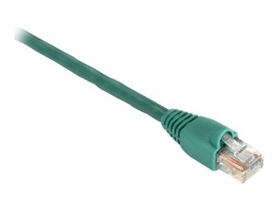 Black Box GigaBase 350MHz CAT5E Snagless Booted Patch Cable, Green, 2ft