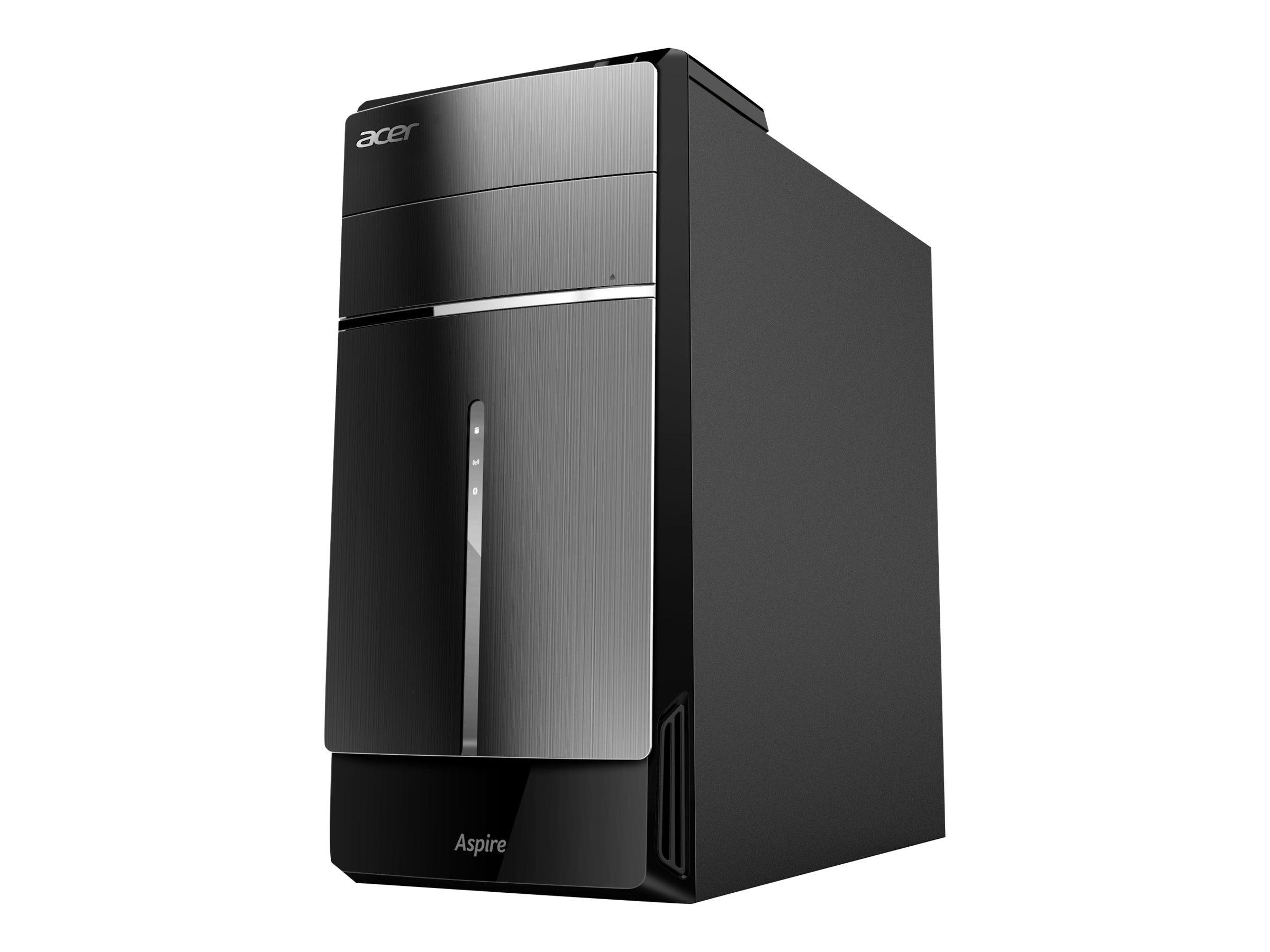 Acer Aspire ATC-605-UR18 Core i7-4770 3.4GHz 8GB 1TB HD4600 DVD SM GbE bgn BT W8.164, DT.SRQAA.024, 17286367, Desktops