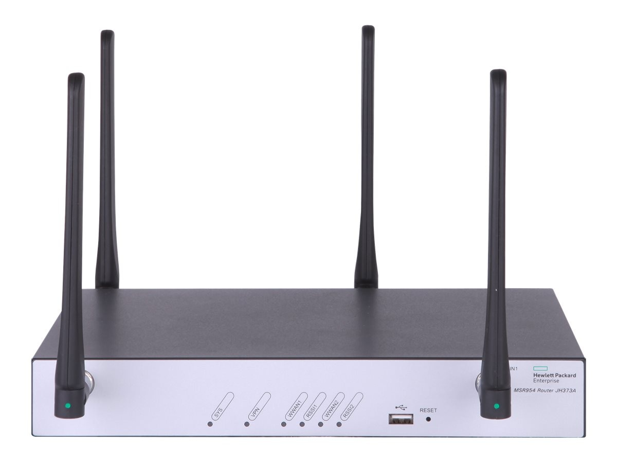 HPE MSR954 Serial Dual 4G Router (Worldwide), JH373A