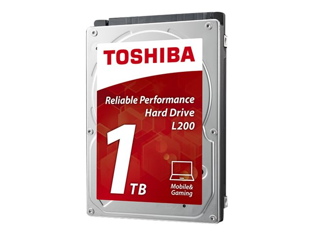 Toshiba 1TB L200 SATA 3Gb s 2.5 Mobile Internal Hard Drive, HDWJ110XZSTA, 29491296, Hard Drives - Internal