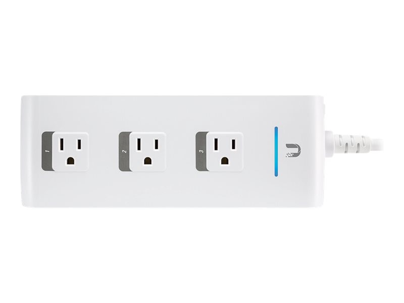 Ubiquiti mFi Controllable 3-Port Power Outlet, MPOWER, 18032633, Home Automation