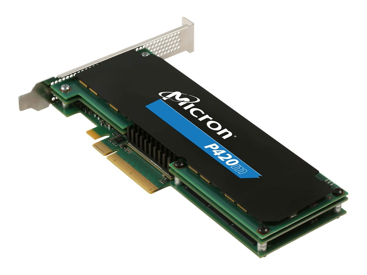 Crucial 700GB P420m Oprom 1 Bootable PCIe HHHL Solid State Drive, MTFDGAR700MAX-1AG13A, 30967124, Solid State Drives - Internal