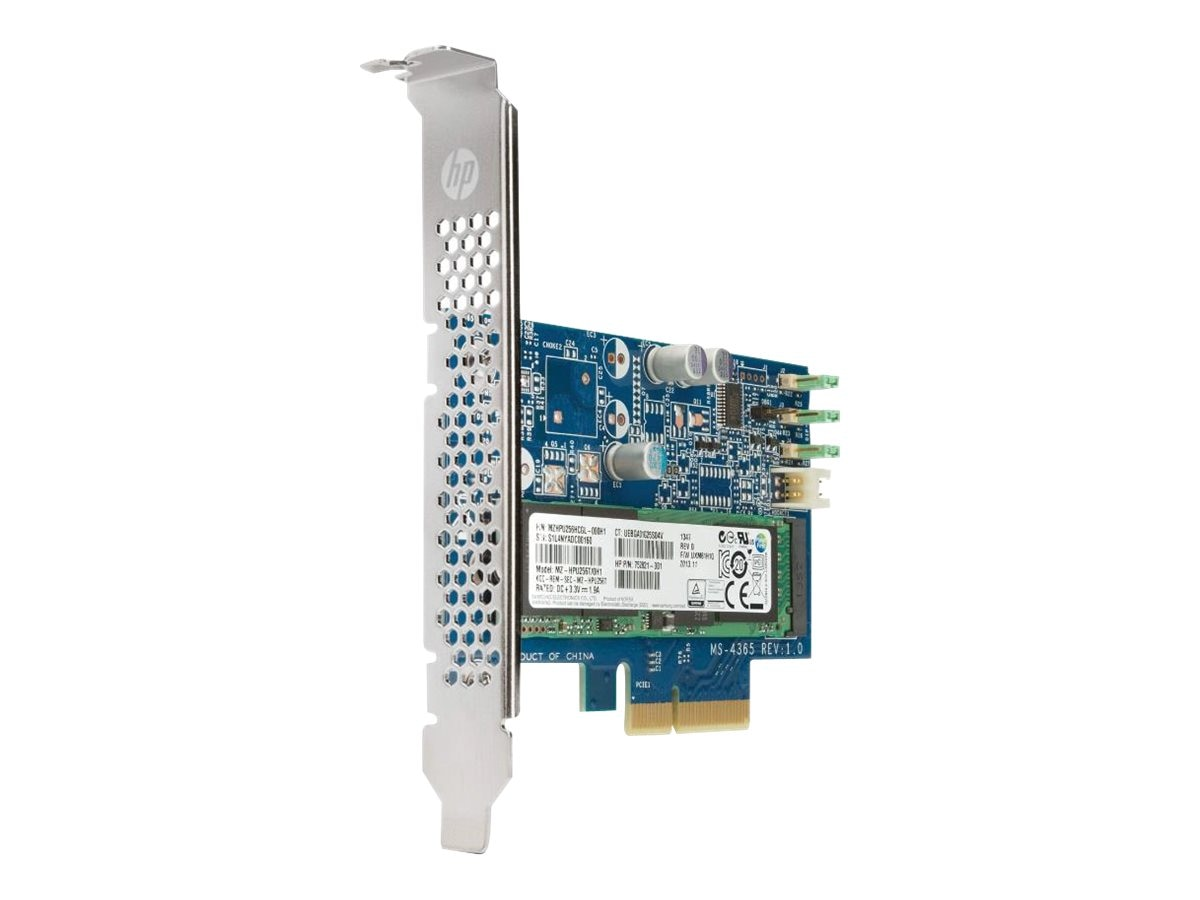 HP 256GB Turbo Drive PCIe M.2 Solid State Drive