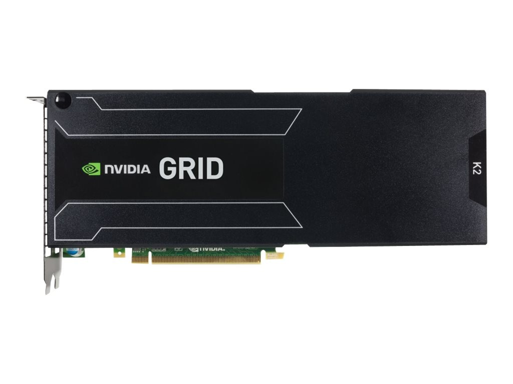 HPE NVIDIA GRID K2 Reverse Air Flow Dual GPU PCIe 3.0 Graphics Accelerator, 8GB GDDR5, 753958-B21, 17054777, Graphics/Video Accelerators