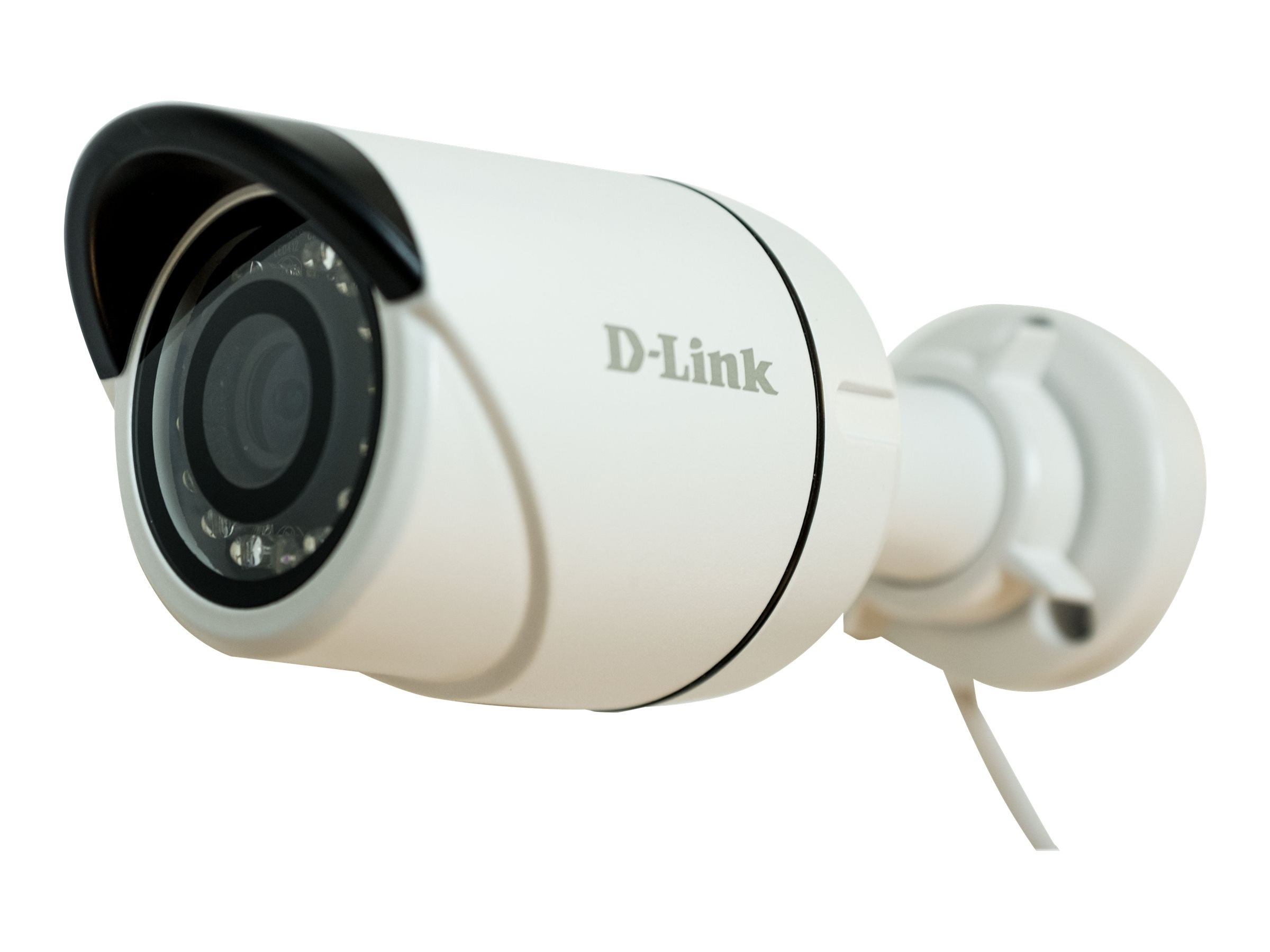 D-Link 3MP Vigilance Full HD Outdoor PoE Mini Bullet Camera, White