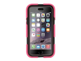 Griffin Survivor All-Terrain for iPhone 6 4.7, Pink Black, GB38904, 17700724, Carrying Cases - Phones/PDAs