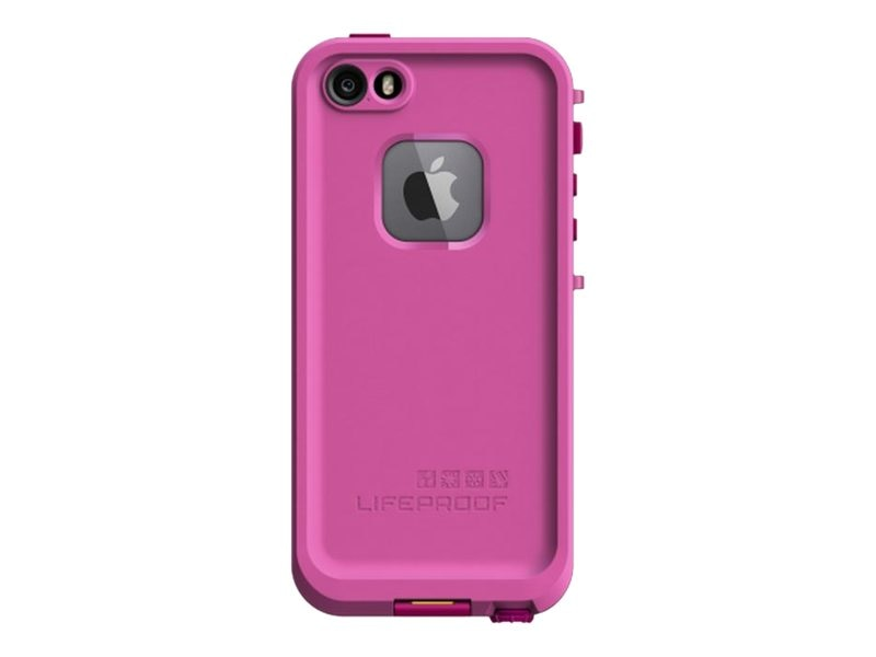 Lifeproof fre Case for iPhone 5S, Magenta, 2115-04, 18621913, Carrying Cases - Phones/PDAs