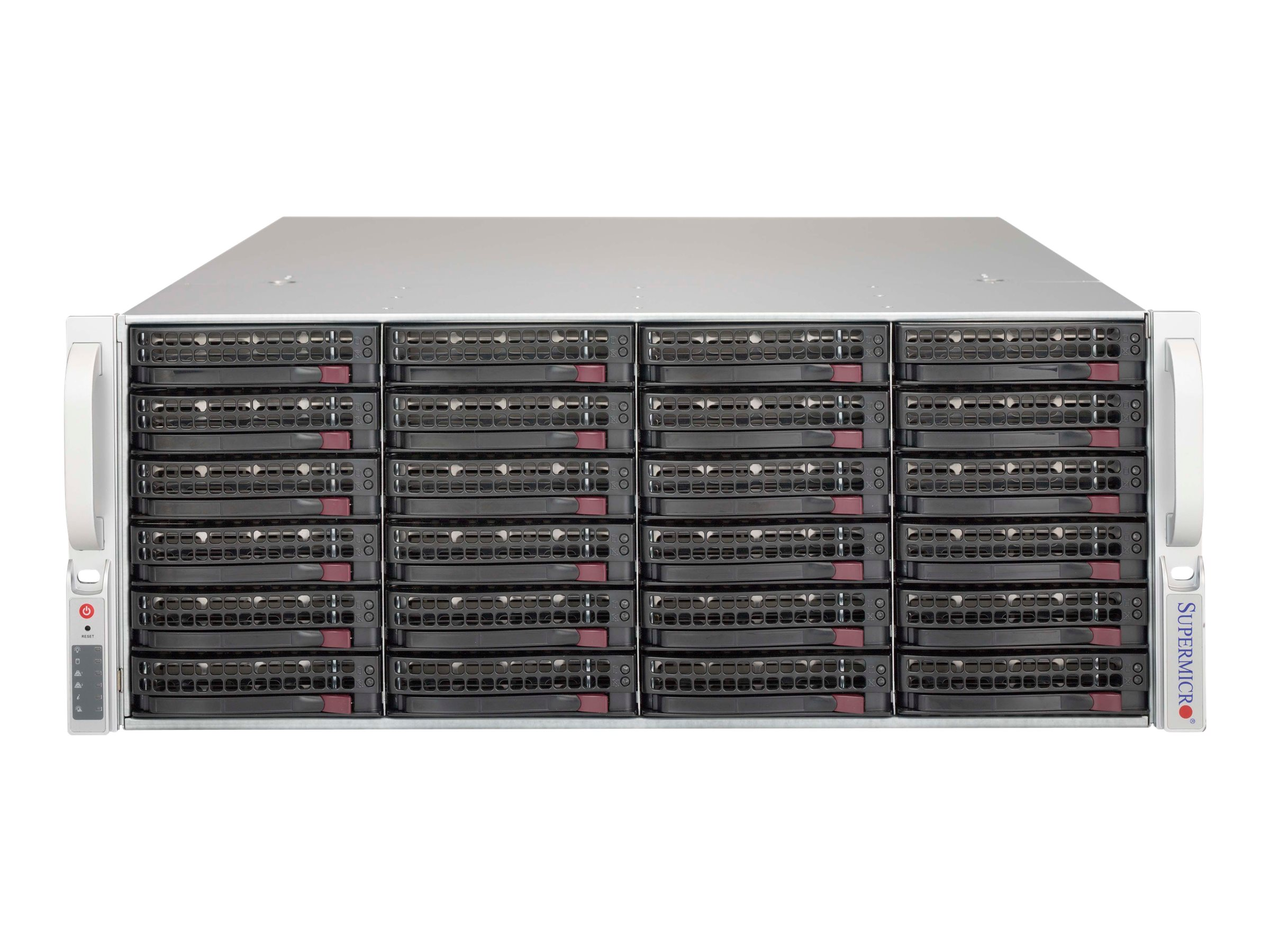 Supermicro Chassis, SuperChassis 846BE1C-R1K03JBOD 4U RM 24x3.5 HS Bays 2x1000W