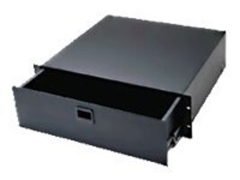 Middle Atlantic D Series Drawer, 4U x 14.5d, Black Anodized Finish, D4, 12207033, Rack Mount Accessories