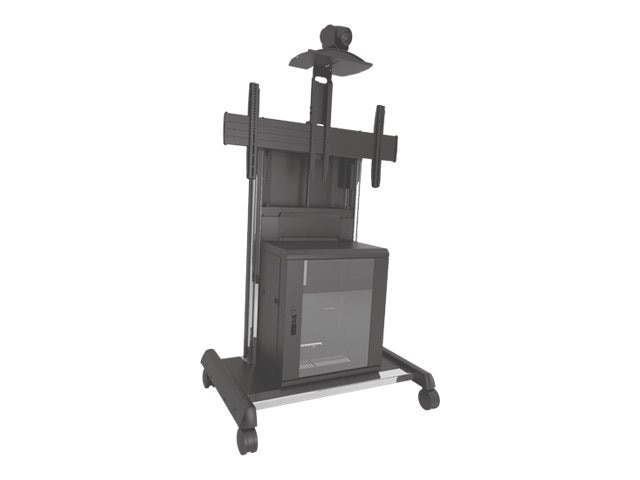 Chief Manufacturing X-large FUSION Video Conferencing Cart, XVAUB, 18363900, Stands & Mounts - AV