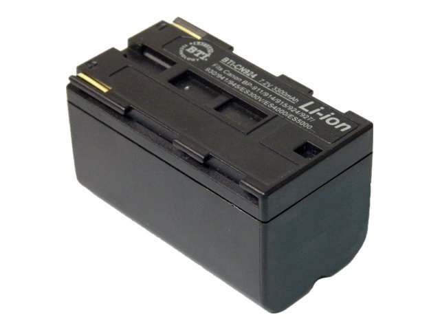 BTI Battery, Lithium-Ion, 7.4V, 3600mAh, for Canon DM-MV1, DM-MV10, E65AS, ES-300V, E, CN924, 7926404, Batteries - Camera