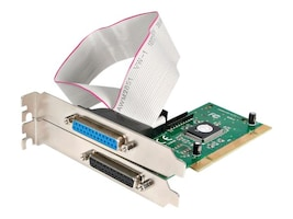 StarTech.com 2-Port Ultra Compatible Parallel PCI Card Adapter IEEE 1284, Plug & Play (PCI1PECP), PCI2PECP, 186766, Controller Cards & I/O Boards