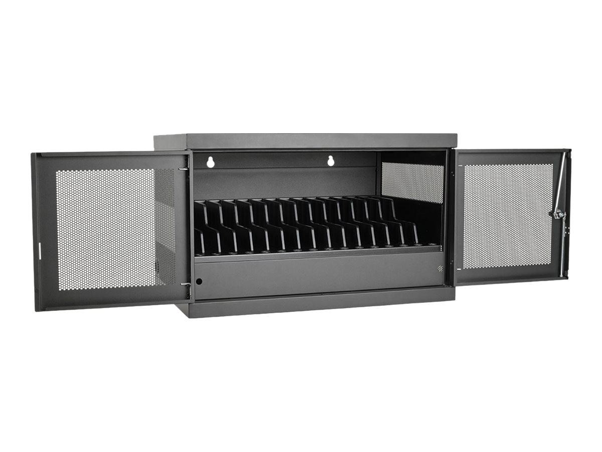 Tripp Lite 16-Port AC Charging Storage Station for Chromebook, Laptop, Tablet, CSC16AC, 31843220, Charging Stations