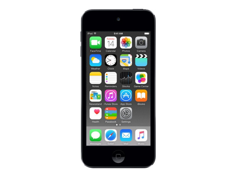Apple 16GB iPod touch - Space Gray, MKH62LL/A, 25875188, DMP - iPod Touch