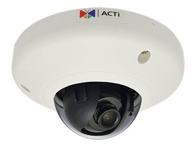 Acti 1MP Indoor Mini Dome with Fixed lens