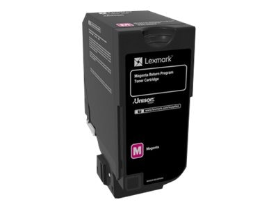 Lexmark Magenta Return Program Toner Cartridge for CS720, CS725 & CX725 Series, 74C10M0